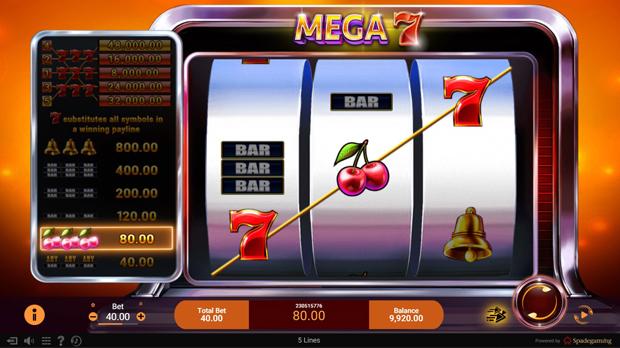 เกม Slot Mega 7